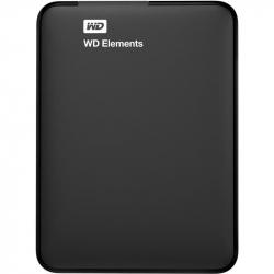 Внешний жесткий диск WD Elements Portable 500Gb (WDBUZG5000ABK-EESN) USB 3.0 черный