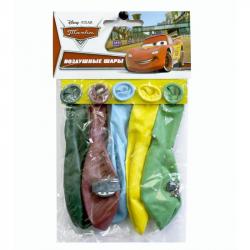 Шары надувные Disney Тачки (5 штук в упаковке)