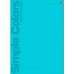 Тетрадь общая Альт Простые цвета (А4, 80 листов, клетка, на скрепке)