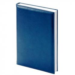 Ежедневник недатированный Attache Agenda искусственная кожа А6 144 листа синий (100х140 мм)