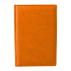 Ежедневник недатированный Attache Сиам искусственная кожа А6 176 листов оранжевый (110x155 мм)