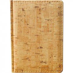 Ежедневник недатированный Attache Корк искусственная кожа А6 176 листов (110x155 мм)