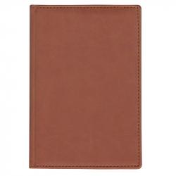 Ежедневник недатированный Attache Вива искусственная кожа А6 160 листов коричневый (100х150 мм)