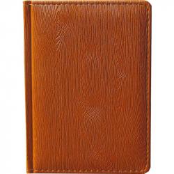 Ежедневник недатированный Attache Вуд искусственная кожа А6 176 листов коричневый (110x155 мм)