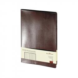 Еженедельник недатированный Bruno Visconti Profi натуральная кожа А4 64 листа коричневый (222x302 мм)