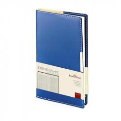 Еженедельник недатированный Bruno Visconti Metropol искусственная кожа А6 80 листов синий (102x177 мм)