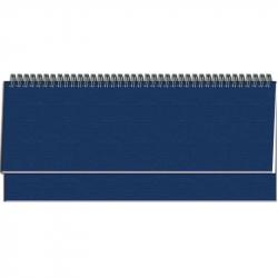 Планинг датированный на 2018 год Attache Сиам искусственная кожа 57 листов синий (340х130 мм)
