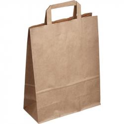 Пакет из крафт-бумаги Сумка 25x11x32 см
