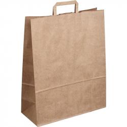 Пакет из крафт-бумаги Сумка 36x15x45 см
