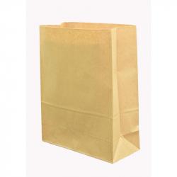 Пакет из крафт-бумаги без ручек 25x11x32 см