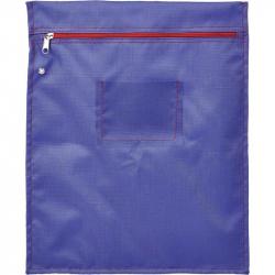 Папка на молнии Attache Confidence с отверстием для опломбирования А4+ фиолетовая 1.2 мм