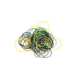 Резинка банковская Attache (диаметр 60мм, толщина 1мм, 100г, цвет в ассортименте)
