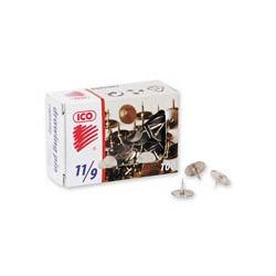 Кнопки металлические ICO 11/9 (100 шт./уп., стальные)