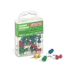 Кнопки пластиковые Attache AL-TS1002-30VH (30 шт./уп., цвет в ассортименте)