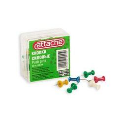 Кнопки силовые цветные Attache (50 шт./уп.)