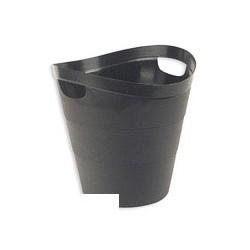 Корзина для бумаг 12л Uniplast КХУ-01 черная