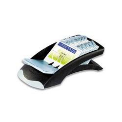 Картотека Durable Visifix Desk (черн/сереб)