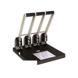 Дырокол KW-Trio 954/01 (на 150 листов, черный, на 4 отверстия)