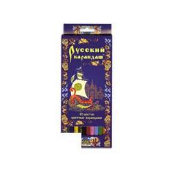 """Карандаши цветные """"Русский Карандаш"""" СК019/12 (12 цветов)"""