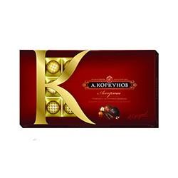Конфеты шоколадные А.Коркунов ассорти (190г)