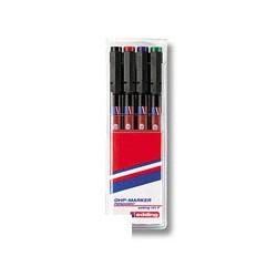 Набор маркеров для пленок Edding E-141 F/4 (0,6 мм.)