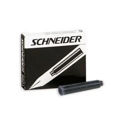 Картриджи Schneider для перьевых ручек (черный)