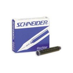 Картриджи Schneider для перьевых ручек (синий)