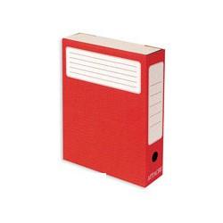 Короб архивный Attache (гофрокартон, красный)