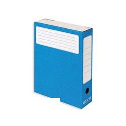 Короб архивный Attache (гофрокартон, синий)