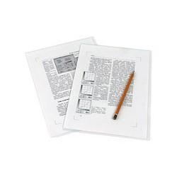 Папка уголок 180мкр, жесткий пластик А4 прозрачная