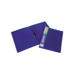 Папка-скоросшиватель с пружин. мех. Attache (17мм, синий)