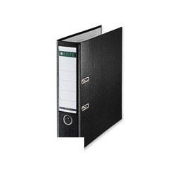 Папка-регистратор с арочным механизмом A4 Leitz L-1010 (80мм, черная, вертикальная, 50шт/уп)