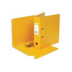 Папка-регистратор с арочным механизмом A4 Bantex (70мм, желтая, 20шт/уп)