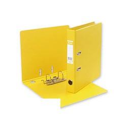 Папка с арочным механизмом Bantex (A4, 50мм, желтая)