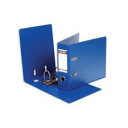 Папка-регистратор с арочным механизмом A5 Bantex (70мм, тёмно-синяя, горизонтальная, 20шт/уп)