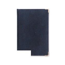 Ежедневник Bruno Visconti Imperium (А5, рециклированная кожа, темно-синий)