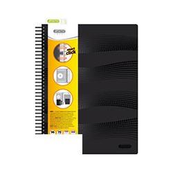 Бизнес-тетрадь Attache Smart (A4, клетка, спираль, 96 листов)
