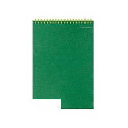 Блокнот Микровельвет (спираль, клетка, A5, 50 страниц)
