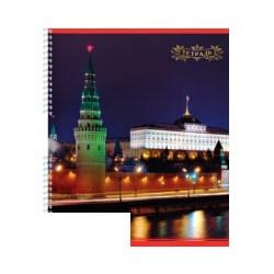 "Тетрадь общая ""Москва"" (A5, 96л, клетка, на спирали, 20шт/уп)"