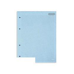 Сменный блок Attache для тетрадей (А5, 50 листов, голубой, клетка)
