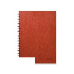 Бизнес-тетрадь Attache Style (A5, клетка, спираль, 120 листов)