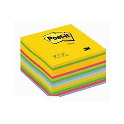 """Блок-кубик Post-it (76*76мм, 6 цветов, 450 листов """"мармелад"""")"""