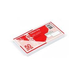Конверт белый BusinessPost E65, стрип (110 -220, 50шт/уп, 24уп/кор)
