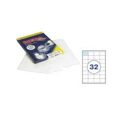 Этикетки MEGA Label (52,5*35мм, белые, 32шт. на листе A4, 100 листов)