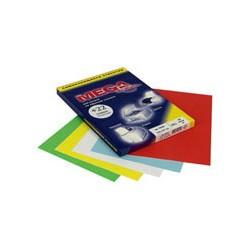 Этикетки MEGA Label (210*297мм, голубые, 1шт. на листе A4, 100 листов)
