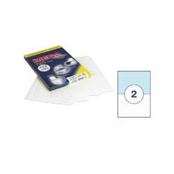 Этикетки MEGA Label (210*148мм, белые, 2шт. на листе A4, 100 листов)