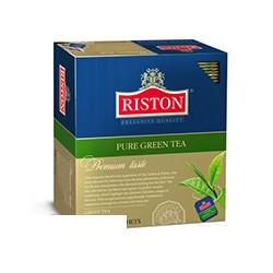 Чай Riston Pure Green Tea зел.100 пак/пач