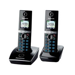 Телефон Panasonic KX-TG8052RUB  черный