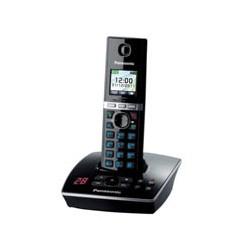 Телефон Panasonic  KX-TG8061RUB(черн)АОН,TFT,а/о,200ном