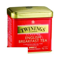 Чай Twinings English Breakfast Tea (100г, ж/б)